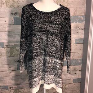 Sweaters - Jason Maxwell plus size ombré sweater 2x